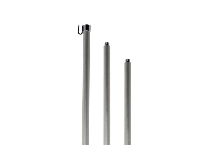 Aste per bandiere da interno in alluminio