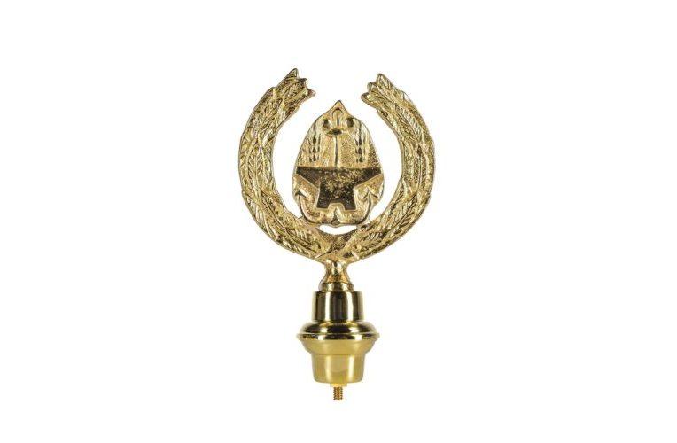 Emblema Invalidi del Lavoro in ottone