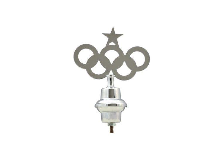 Emblema Olimpico  in ottone