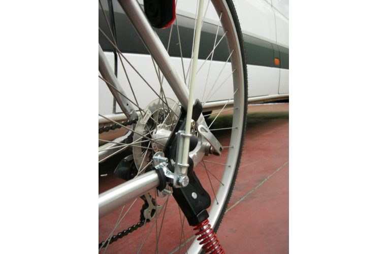 Morsetto per asta per bicicletta