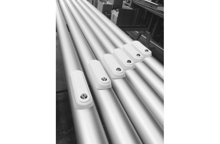 Pennoni portabandiera in alluminio anodizzato