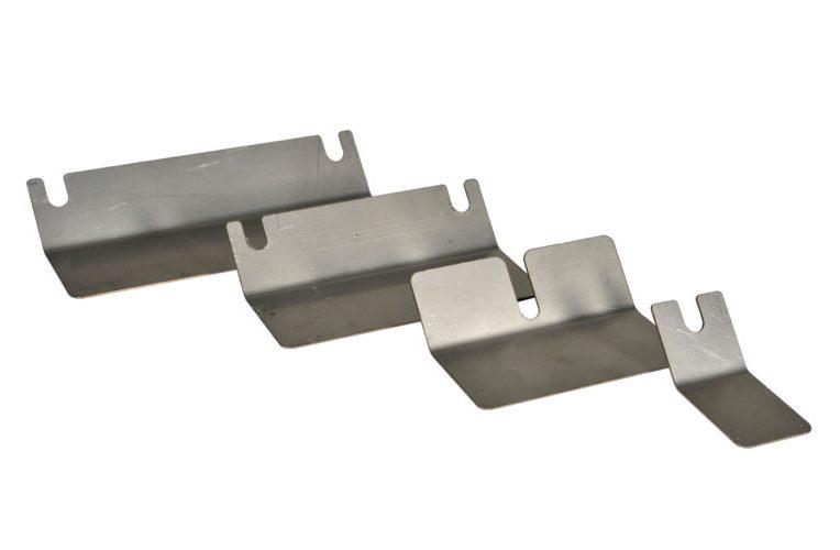 Salvamuro in acciaio inox per supporti per aste